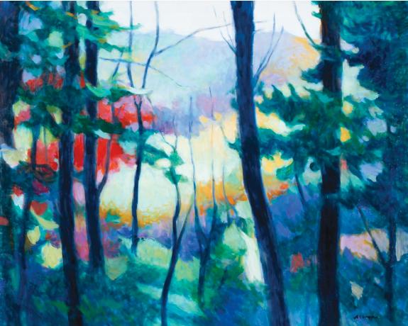 Tadashi Asoma - Through the Pine Trees